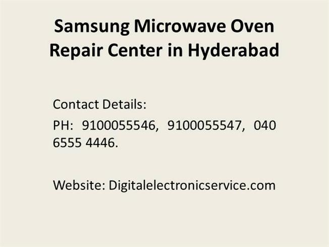 Samsung Microwave Oven Repair Center In Hyderabad