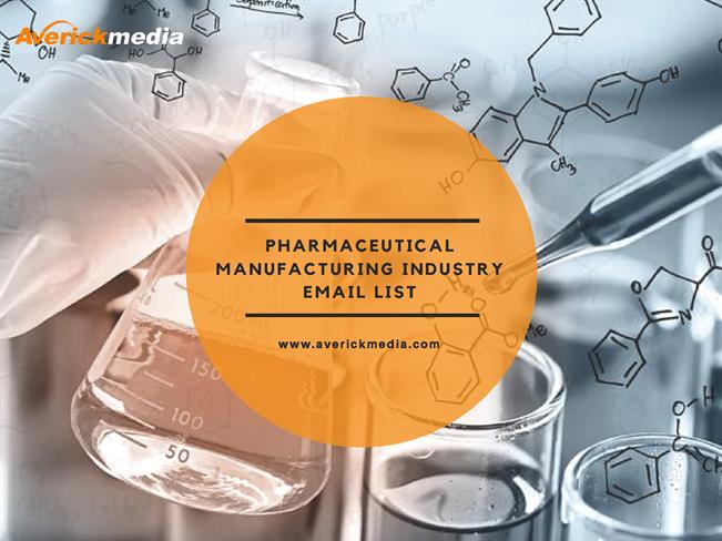 Pharmaceutical Manufacturing Industry Email List |authorSTREAM