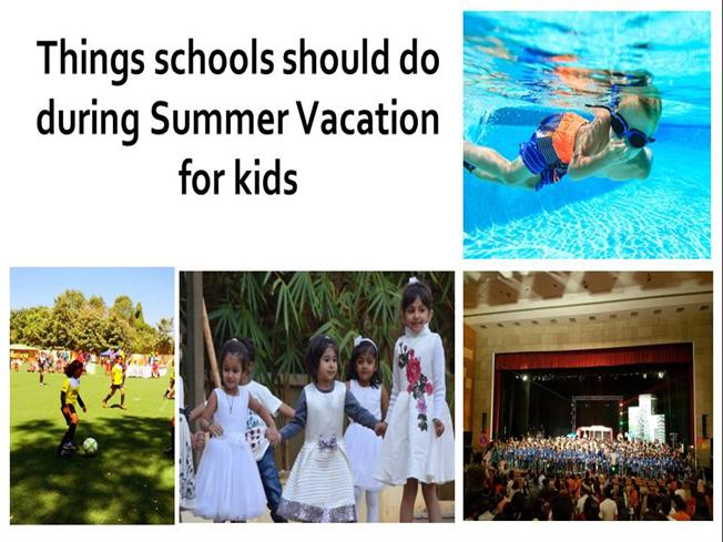 things schools should do during summer vacation for kids authorstream. Black Bedroom Furniture Sets. Home Design Ideas