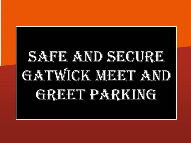 greet meet parking gatwick south