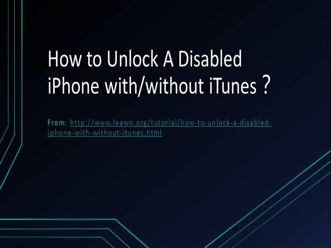 iphone is disabled connect to itunes without restoring how to unlock a disabled iphone with or without itunes 21193