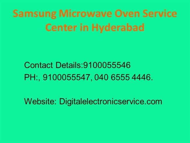 Samsung Microwave Oven Service Center In Hyderabad 06