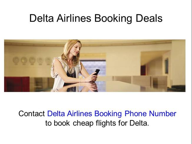 Delta Airlines Booking Phone Number 1 888 701 8929