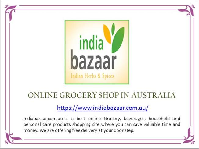 May Special Offer Online Grocery Shop Australia - India