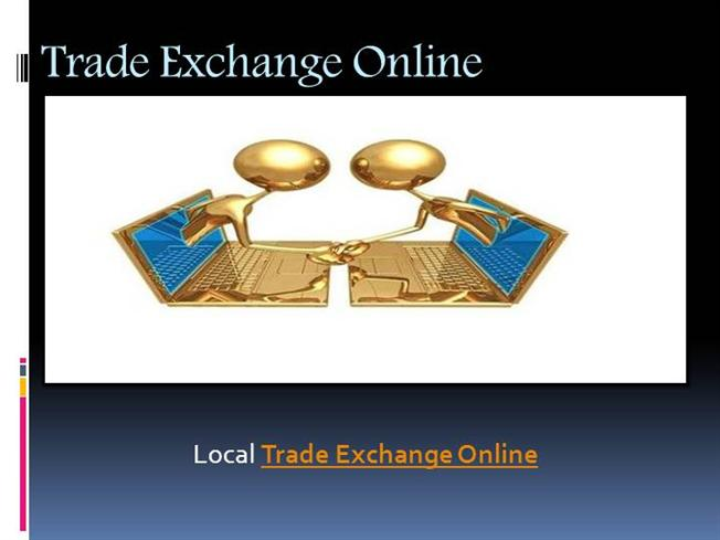 Local exchange and trading systems
