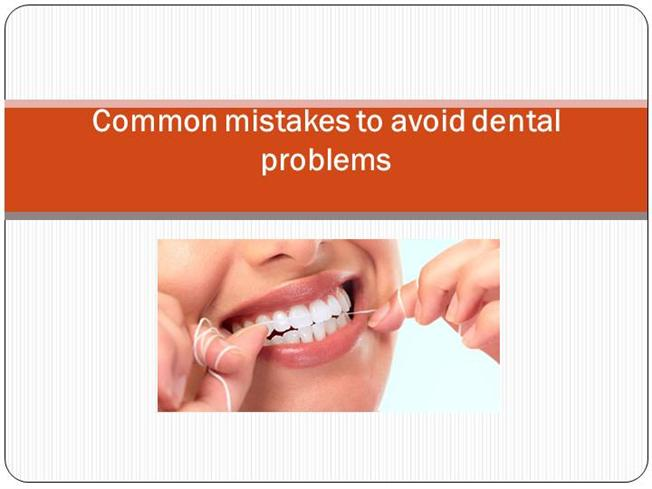 How to avoid the 4 most common flossing mistakes