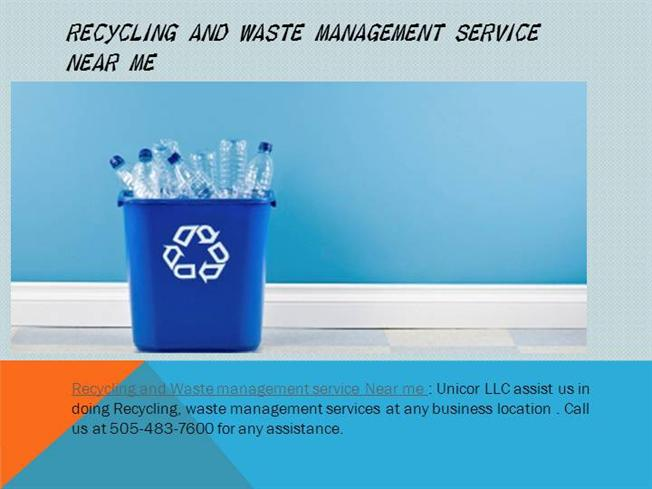 Recycling And Waste Management Service Near Me Authorstream