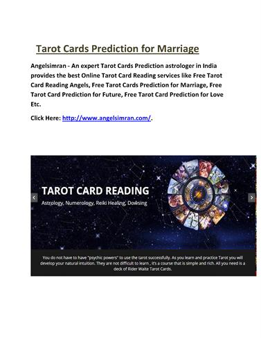 Tarot Cards Prediction for Marriage |authorSTREAM