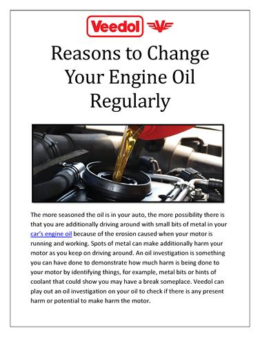 what happens to engine oil over time