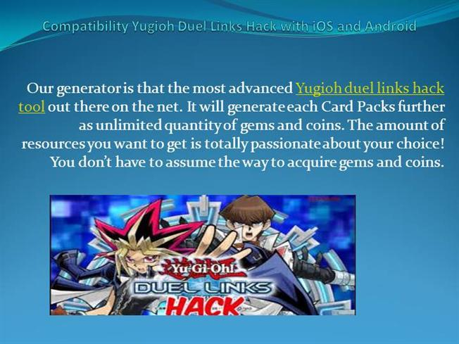 Compatibility Yugioh Duel Links Hack With Ios And Android |authorSTREAM