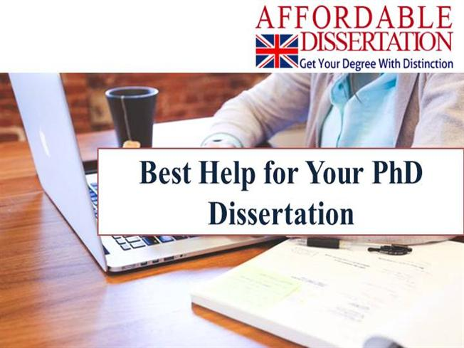 Help with your dissertation