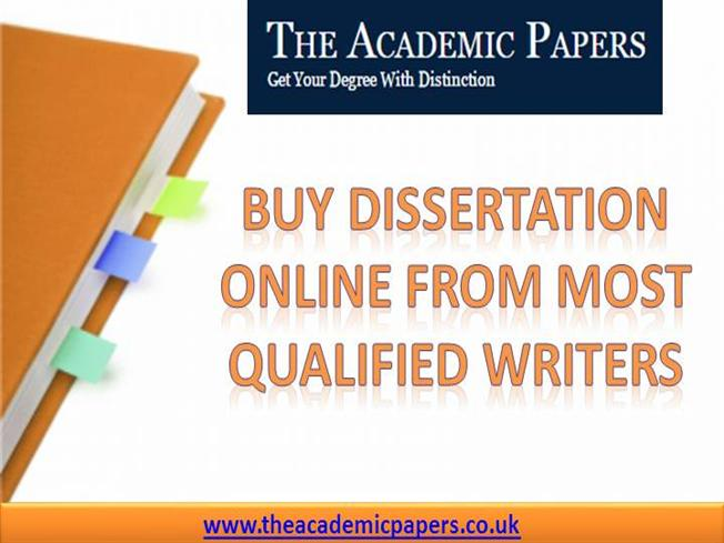 Buy a dissertation online and dissertation accomplished