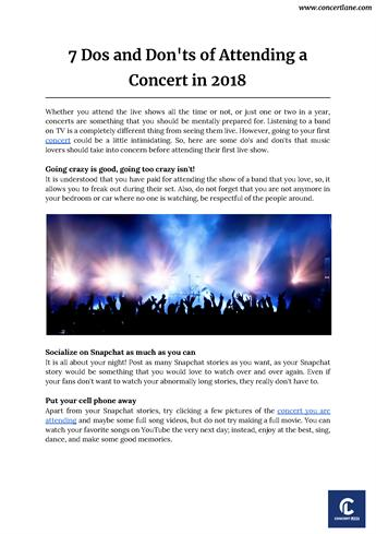 Best Concerts On Youtube 2018