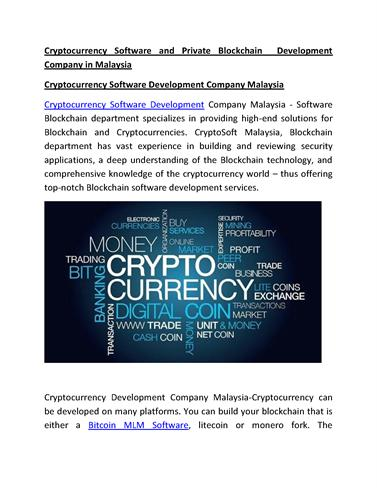 Cryptocurrency & blockchain ppt