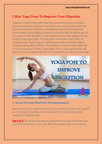5 best yoga poses to improve your digestion authorstream