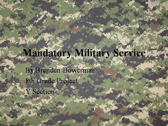 10 Meaningful Pros and Cons of Mandatory Military Service