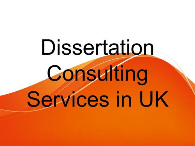 Dissertation consults