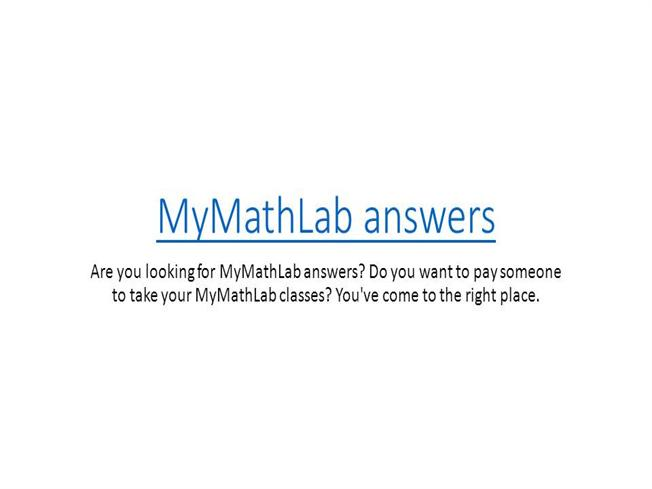 Do mymathlab homework on ipad