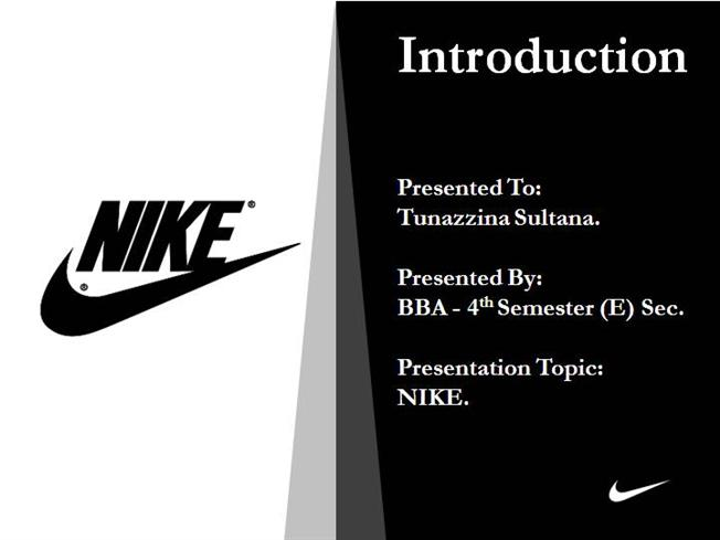 Nike Inc.'s Marketing Mix (4Ps/Product, Place, Promotion, Price) – An Analysis