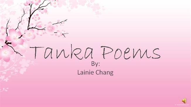 Tanka poetry powerpoint 2 sound authorstream for Tanka poem template