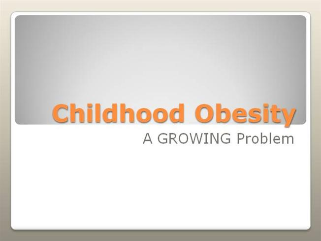 childhood obesity powerpoint templates - ch obesity pow authorstream