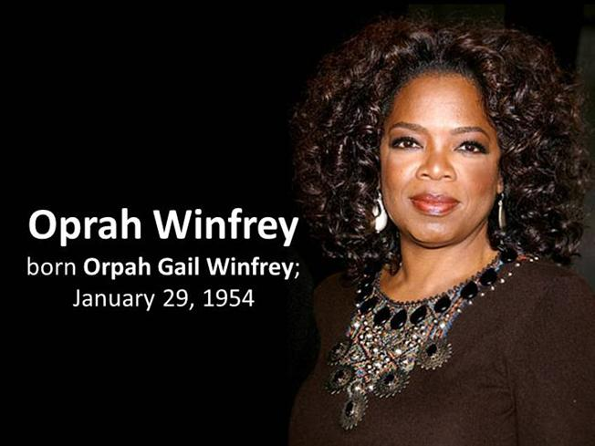Oprah Winfrey Biography |authorSTREAM