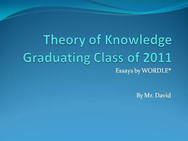 theory of knowledge criteria essay Theory of knowledge is a required subject in the international baccalaureate diploma programme it is similar to epistemology courses offered at many universities theory of knowledge is a course created by the ib organization and must not be conceived as pure epistemology.