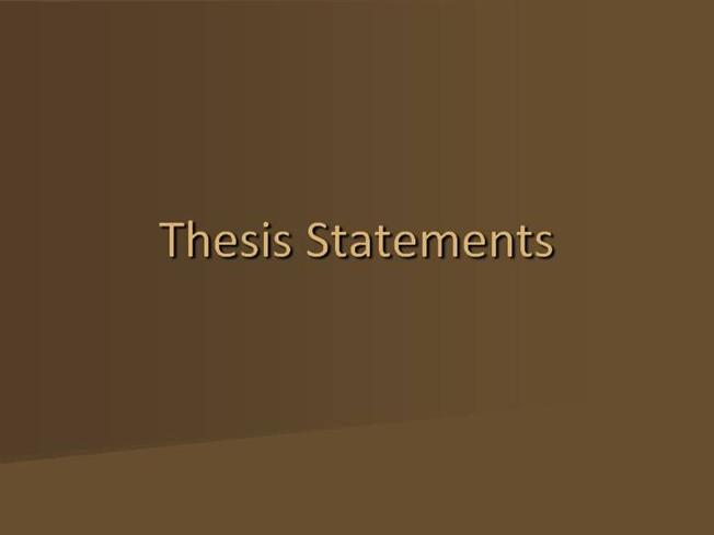 Sign of four thesis