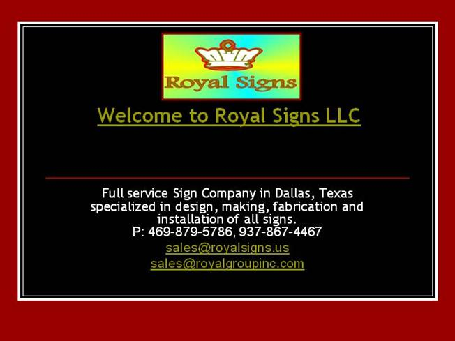 Sign Installation Dallas Texas Tx Wholesale Signs