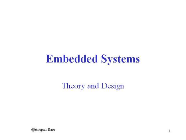 Download Ppt On Embedded System