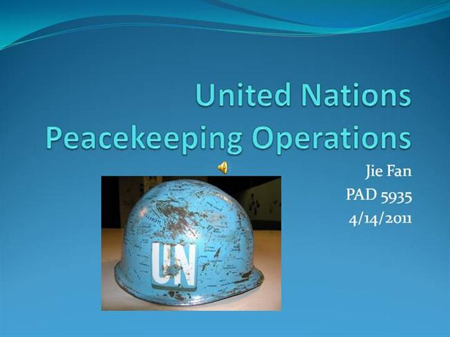 United nations essay