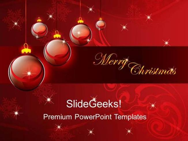 CHURCH MERRY CHRISTMAS ABSTRACT BACKGROUND PPT TEMPLATE 2 ...